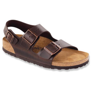 Birkenstock | Milano Soft Footbed – Brown Amalfi Leather