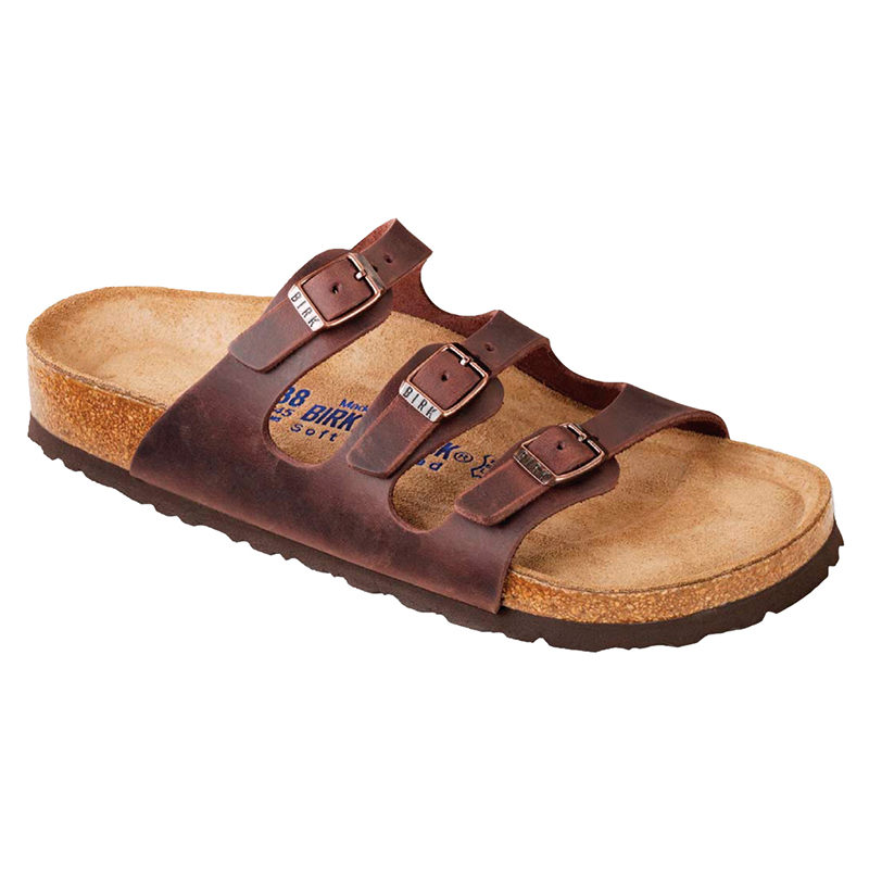 Birkenstock Women Florida Soft Footbed Habana Oiled Leather