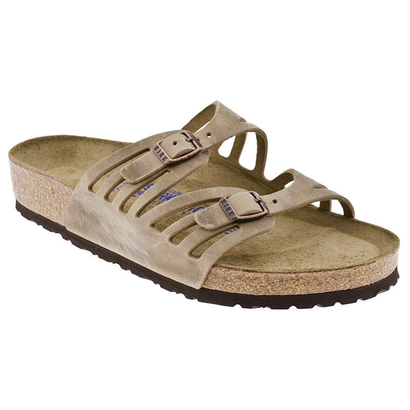 Birkenstock | Granada Soft Footbed - Tobacco Oiled Leather | Golden Shoes Traverse City