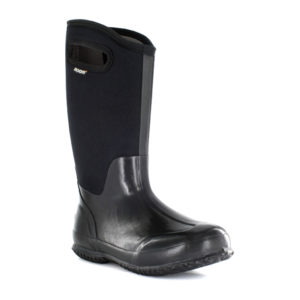 BOGS | Classic High Handles – Black Smooth