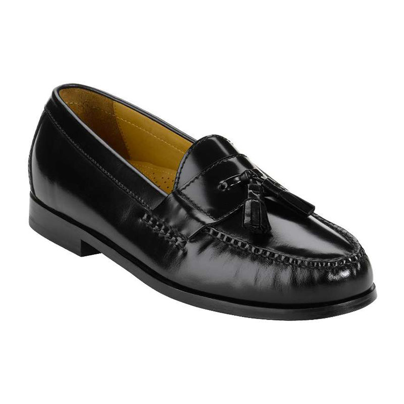Cole Haan Pinch Tassel Black