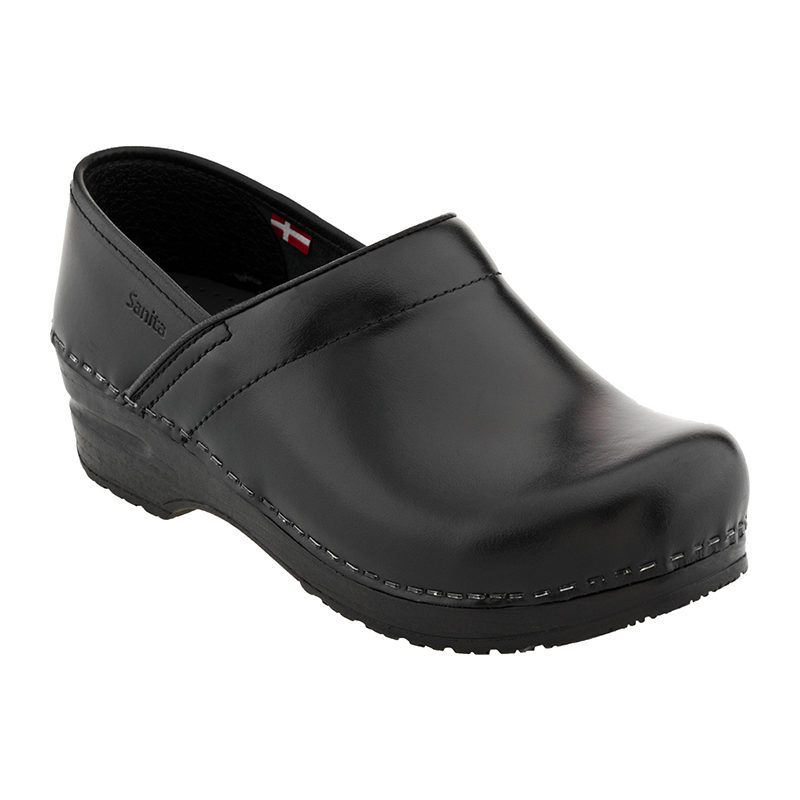 Sanita Clogs Professional Cabrio Black