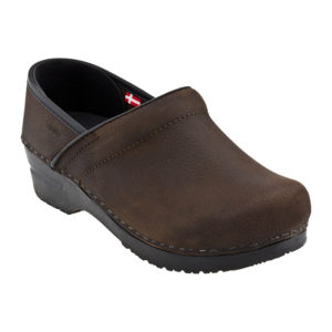 Sanita Clogs | Professional Oil – Antique Brown