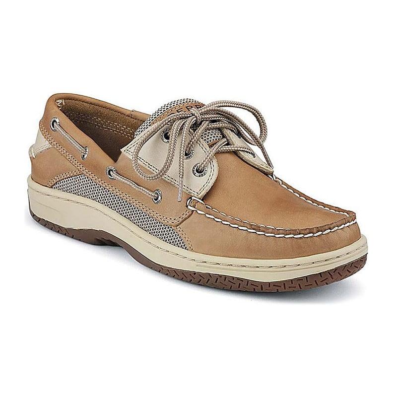 Mens Cork Boat Shoes