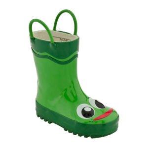 Western Chief | Frog Rain Boot - Green  $35