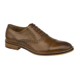 Johnston Murphy | Conard Cap-Toe – Tan