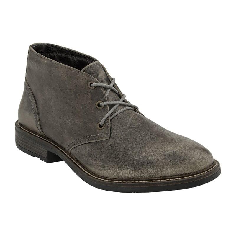 Naot Pilot Vintage Grey Golden Shoes Traverse City