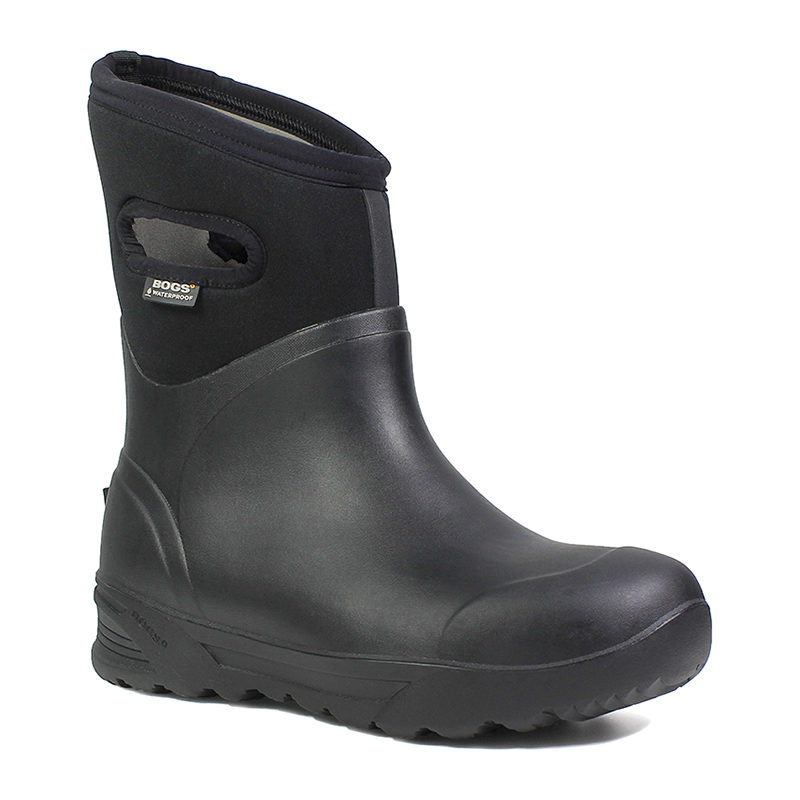 BOGS Men Bozeman Mid Black