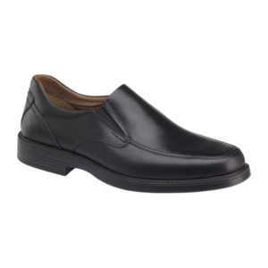 Johnston Murphy | Stanton Moc Venetian – Black