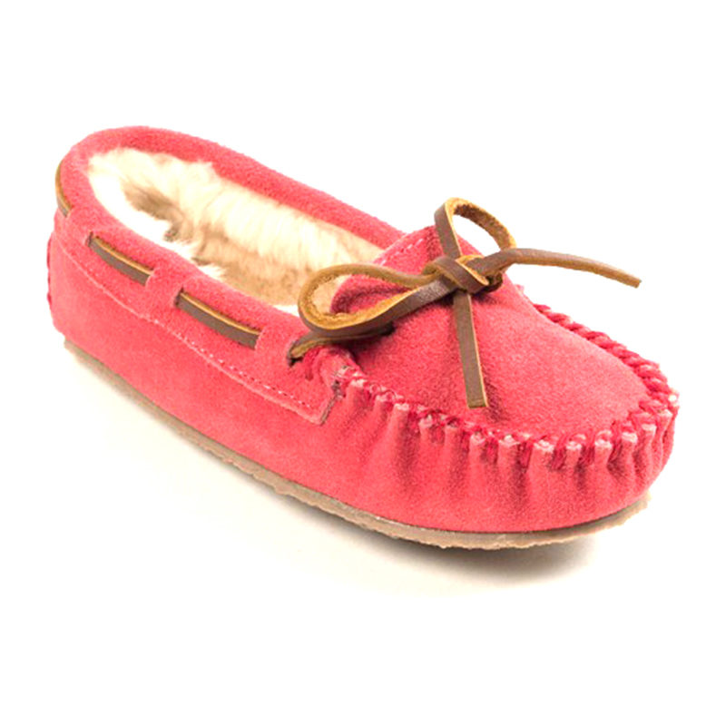 Minnetonka Moccasin Children Cassie Hot Pink 4815