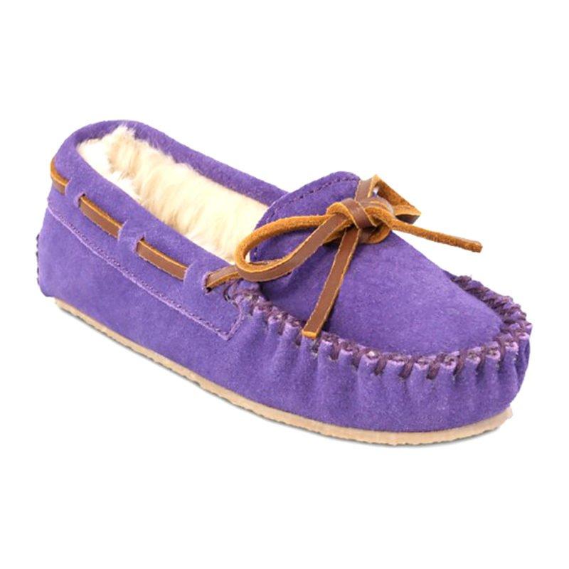 Minnetonka Moccasin Children Cassie Purple 4814