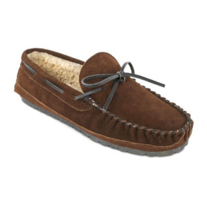 Minnetonka Moccasin | Casey Slipper – Chocolate (4155)