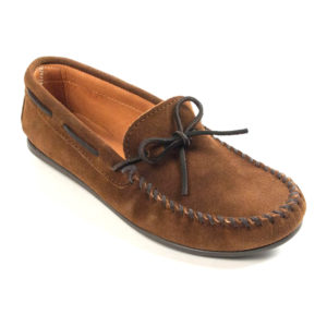 Minnetonka Moccasin | Classic Moc – Dusty Brown (913)