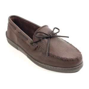 Minnetonka Moccasin | Moosehide Classic – Chocolate (892W)