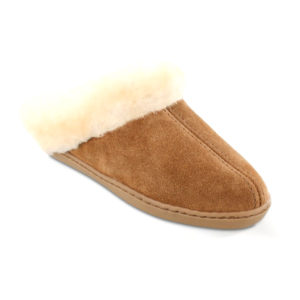 Minnetonka Moccasin | Sheepskin Mule – Tan (3361)