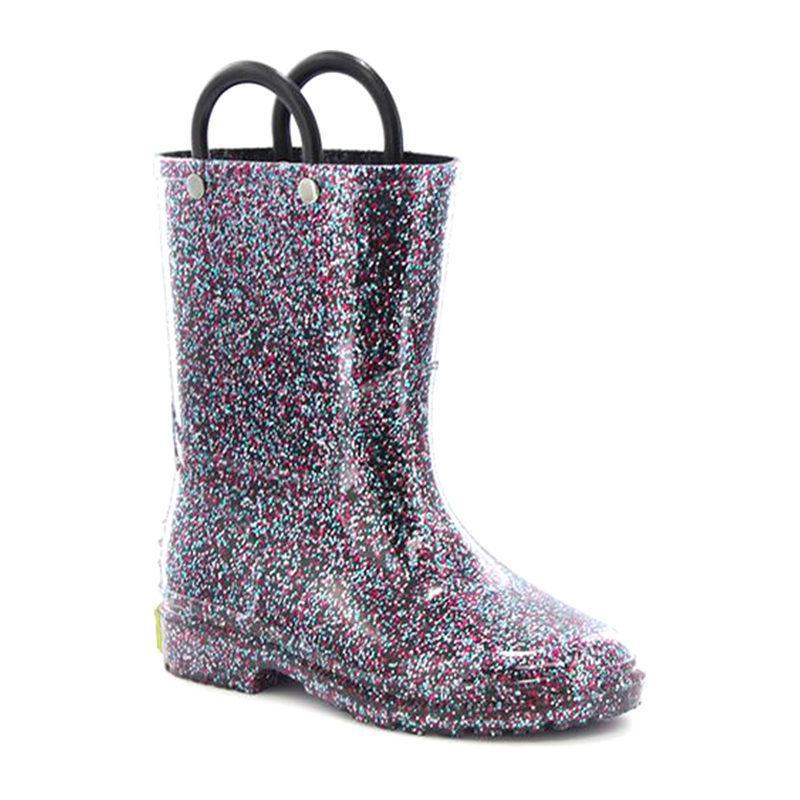 Western Chief Children Glitter Rain Boot Multi