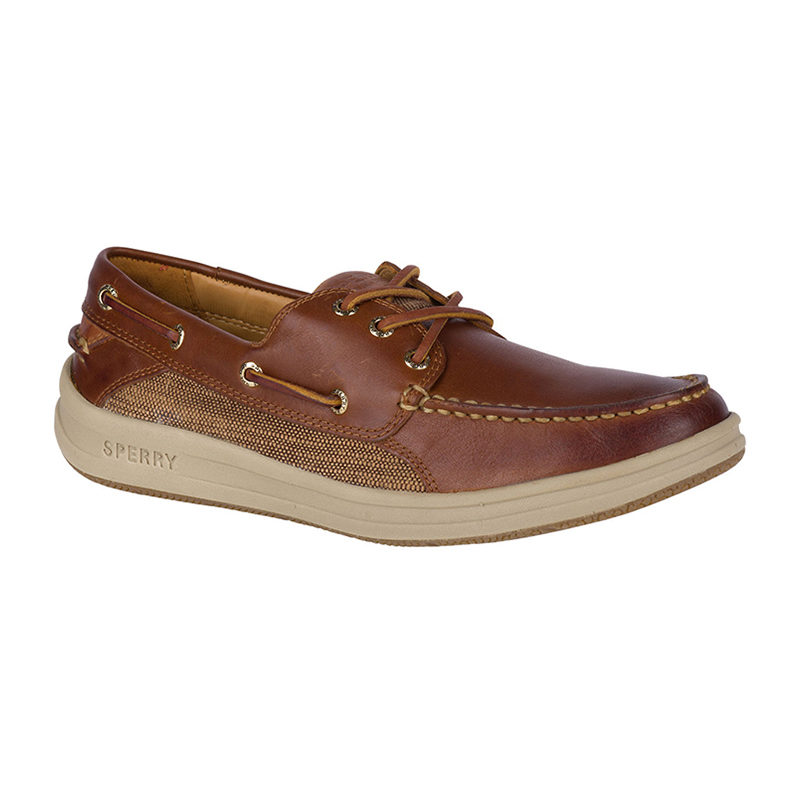 Sperry Men Gold Cup Gamefish 3 Eye Boat Shoe Brown