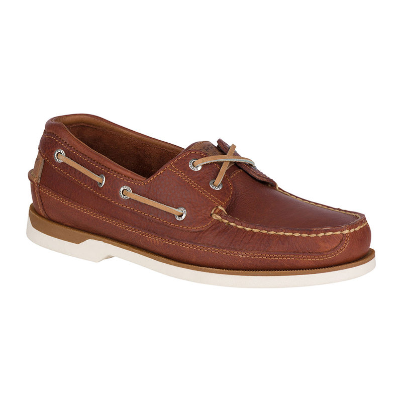 Sperry Men Mako 2 Eye Boat Shoe Tan