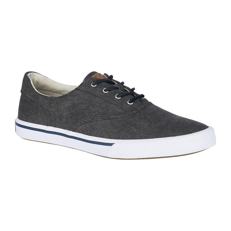 Sperry Men Striper II Salt Washed CVO Sneaker Black