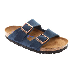 Birkenstock | Arizona Soft Footbed – Dark Navy Suede