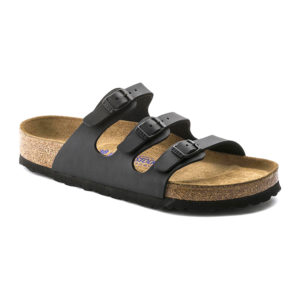 Birkenstock | Florida Soft Footbed – Black Birko Flor