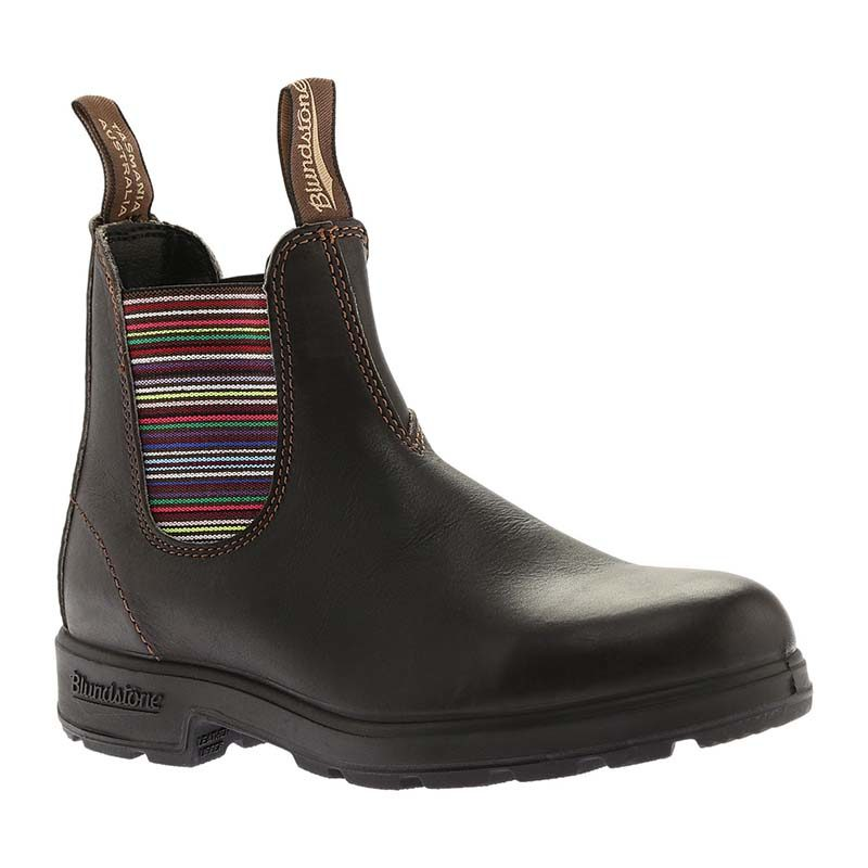 Blundstone Women Original 500 Style 1409 Stout Brown Stripes