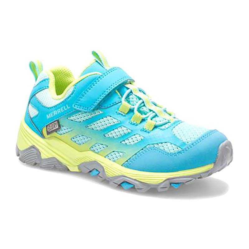 Merrell   Moab FST Low – Turquoise / Lime