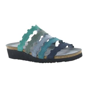 NAOT   Adina – Emerald / Sea Green / Feathery Blue / Teal / Navy