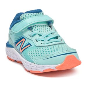 New Balance | Toddler 680v6 – Bali Blue / Mako Blue / Ginger Pink
