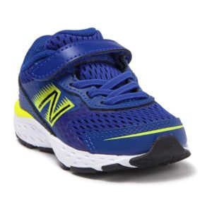 New Balance | Toddler 680v6 – Marine Blue / Lemon Slush / Black