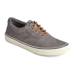 Sperry | Striper II CVO Distressed Sneaker – Dark Grey