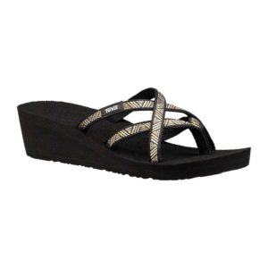 Teva | Mush Mandalyn Wedge OLA 2 – Agave Black Metallic