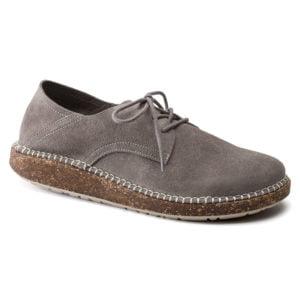 Birkenstock | Gary – Light Grey Suede Leather