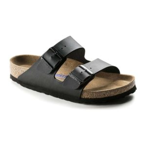 Birkenstock | Arizona Soft Footbed – Black Birko Flor