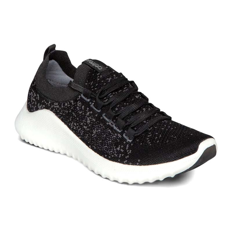 Aetrex Women Carly Arch Support Sneakers Black