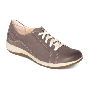 Aetrex | Dana Lace Up Oxford – Warm Grey