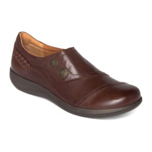 Aetrex | Karina Monk Strap – Brown