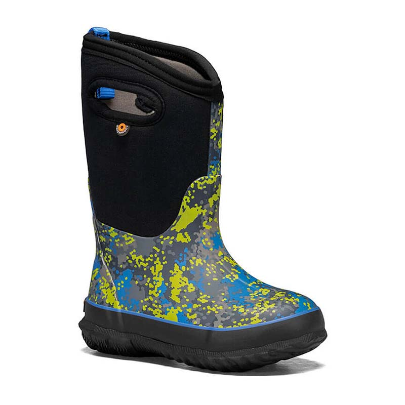 BOGS Children Classic Micro Camo Blue Multi