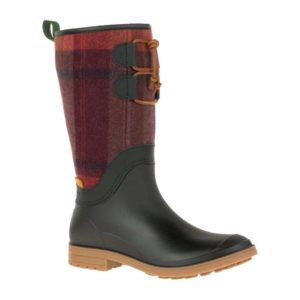 Kamik | Abigail Rain Boot – Red Plaid