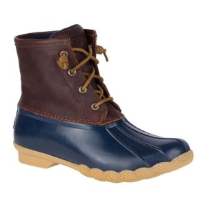 Sperry | Saltwater Duck Boot – Tan / Navy