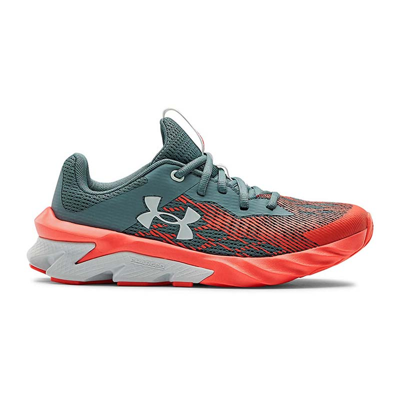 Under Armour Children Charged Scramjet 3 3022611 402 Green Orange