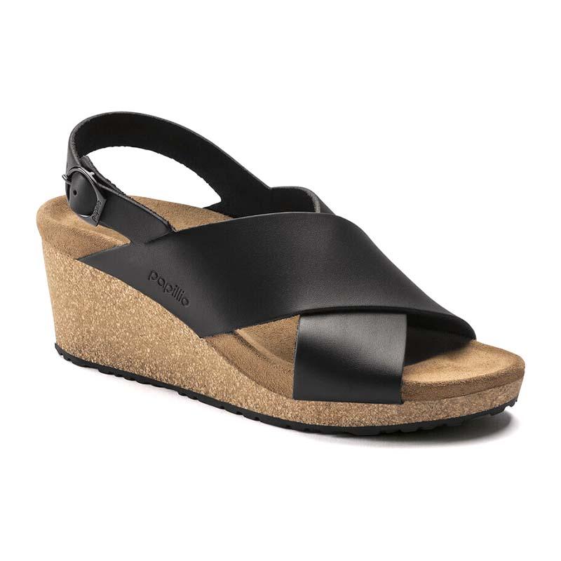 Birkenstock   Papillio Samira – Black Leather