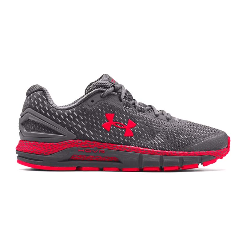 Under Armour Men UA HOVR Guardian 2 Pitch Gray Red