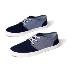 TOMS | Carlo Two Tone Sneaker – Navy