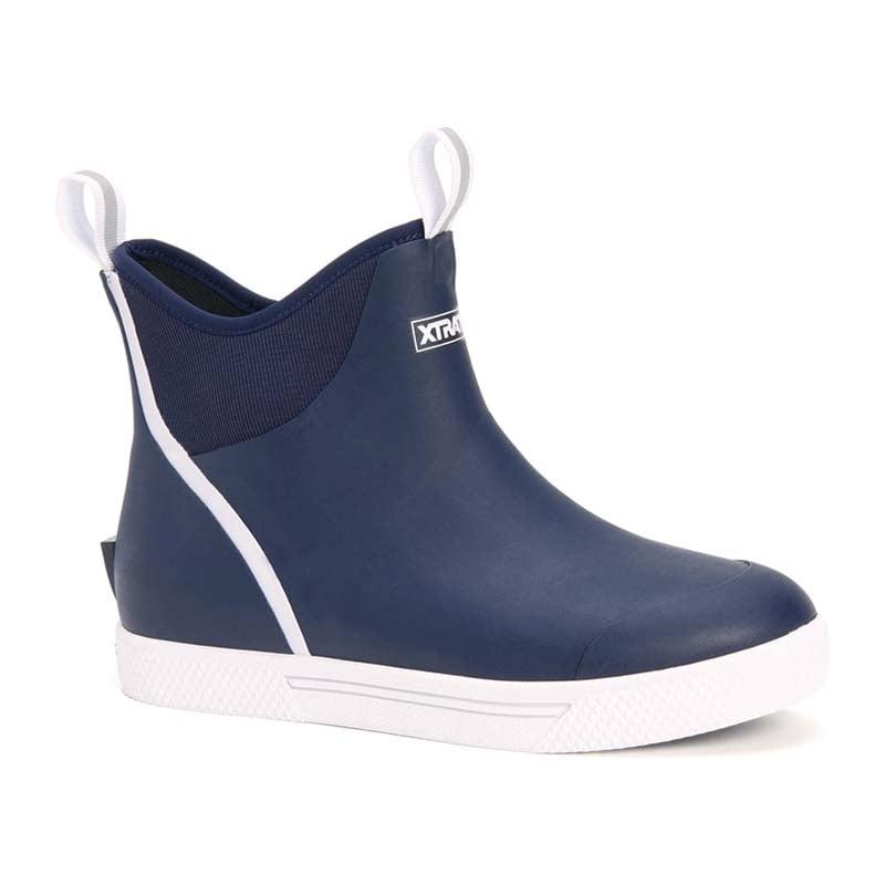 XTRATUF | Wheelhouse 6 inch Ankle Deck Boot – Navy