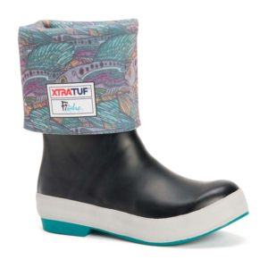 XTRATUF | FISHE®WEAR 15 Inch Legacy Boot – Black / Groovy Grayling