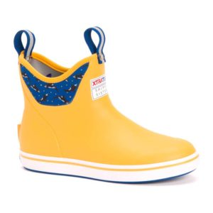 XTRATUF | Salmon Sisters 6 inch Ankle Deck Boot – Yellow
