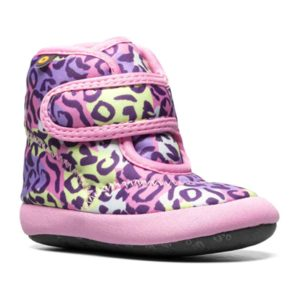 BOGS | Elliott II Neo Leopard Baby Boots – Pink Multi