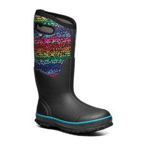 BOGS | Classic High Handles Rainbow – Black Multi