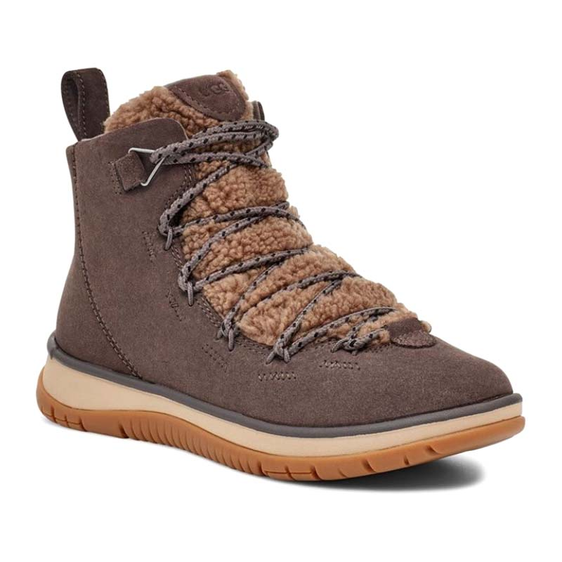 UGG Women Lakesider Heritage Mid Thunder Cloud Suede